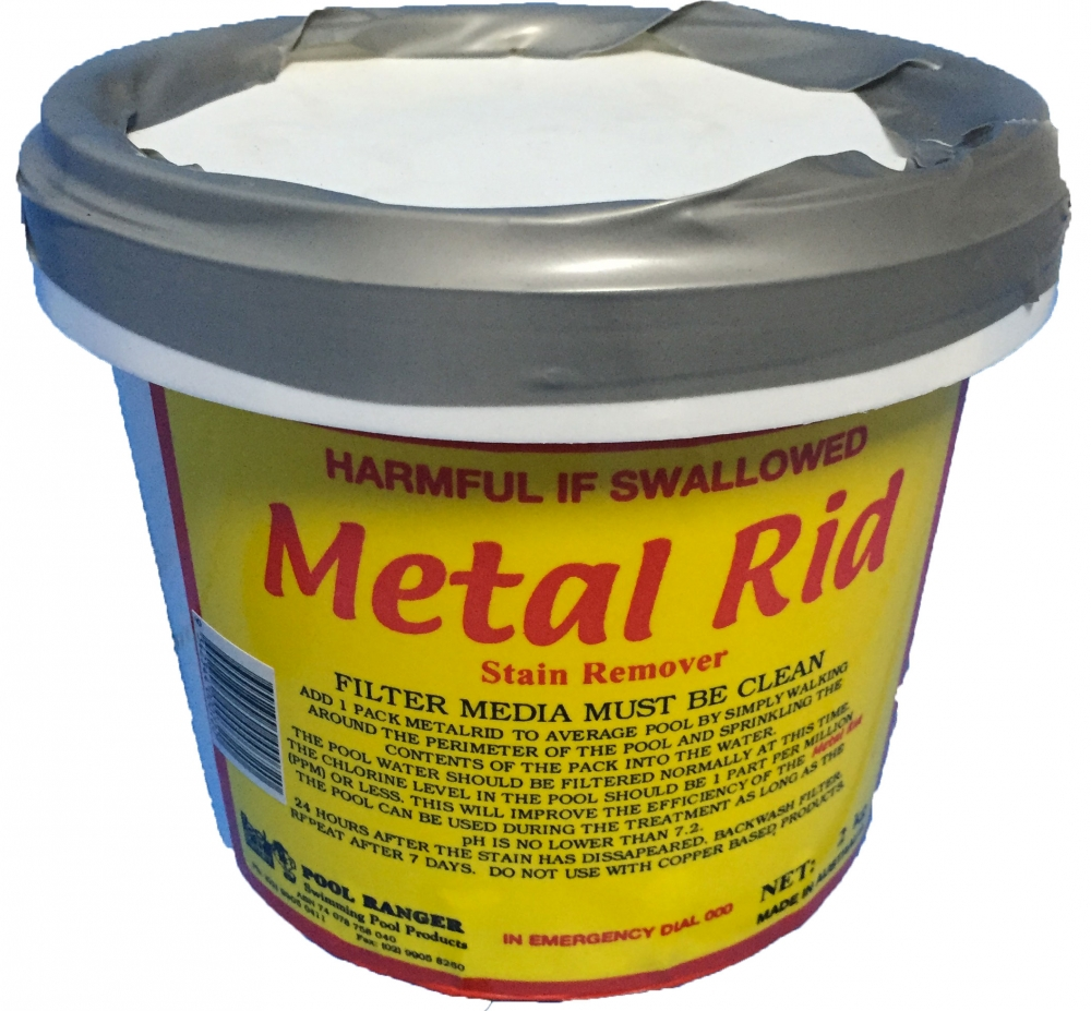 Metal Stain Remover 2kg Pool Protector
