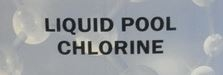 15L Liquid Chlorine (Does not include drum charge)
