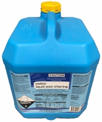 20L Liquid Chlorine (Does not include drum charge)