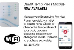 Hayward Smart Temp Wi-Fi module to suit heat pump.