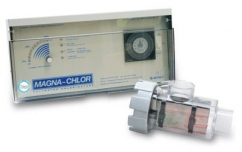 Magna-Chlor 20amp with reverse polarity cell & light transformer salt chlorinator