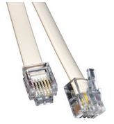 RJ12 Remote cable 3m (6 wire flat)