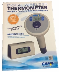 Thermometer Digital Wireless Including Base Station